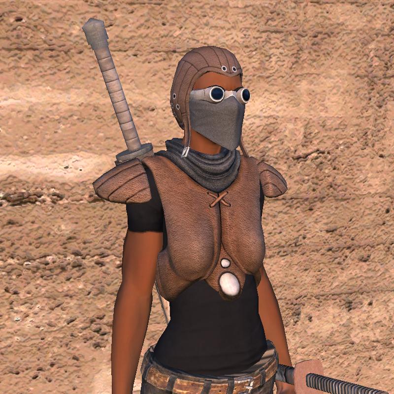 Padded Leather Armor / Подбитый кожаный доспех (RU)