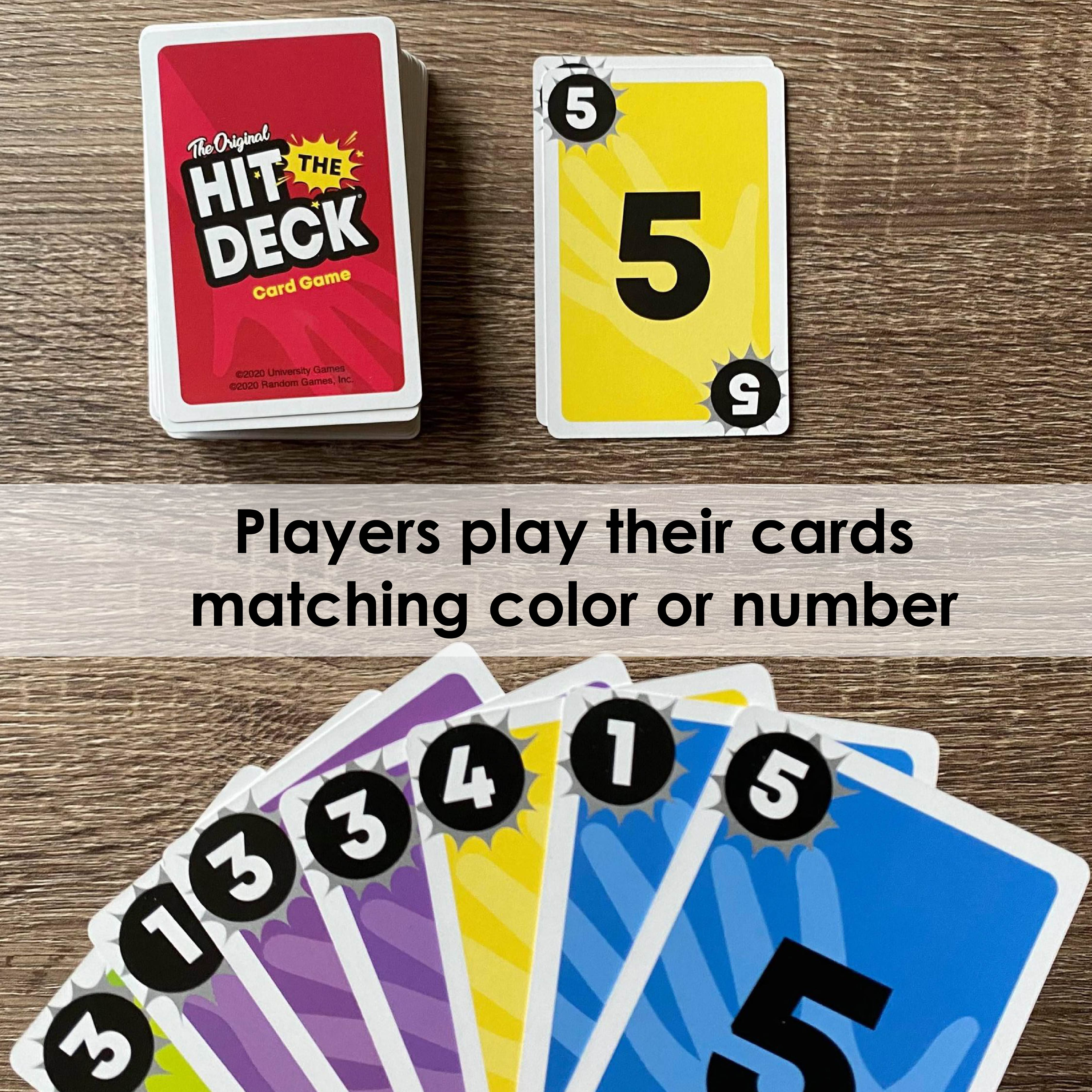 The Original Hit the Deck Card Game