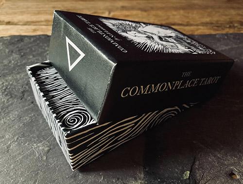 An image of a box of tarot cards.