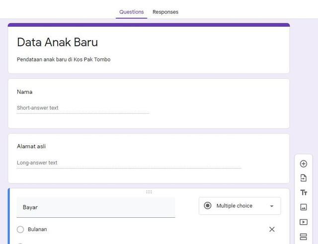 Unik Cara Membuat Google Form Untuk Survei Dengan Cepat Dan Gratis