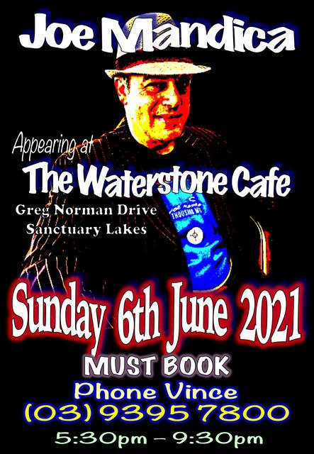 Joe-Mandica-Waterstone-Cafe-6th-June-2021