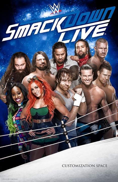 WWE Friday Night Smackdown (16 October 2020) English 720p HDRip 600MB | 300MB Download
