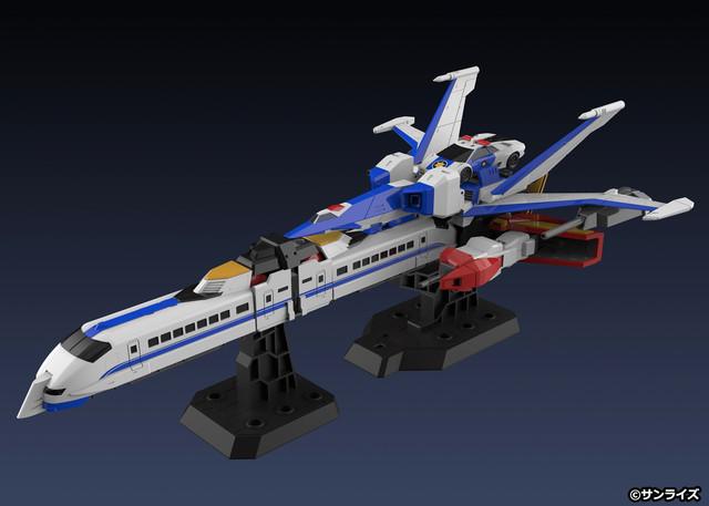 完全變形合體!《勇者傳說》合體玩具完成品「THE合體 雷霆達鋼號」問世 06