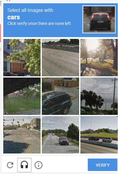 Another reCAPTCHA bug, different?
