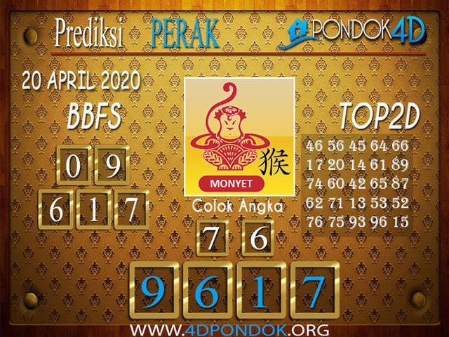 Prediksi Togel PERAK PONDOK4D 20 APRIL 2020