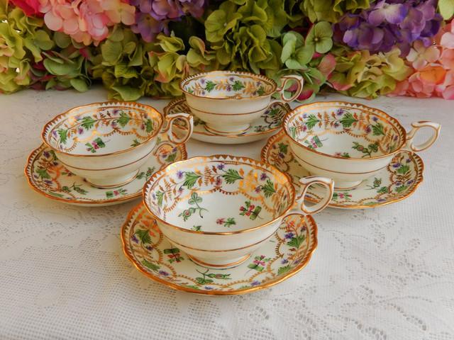 красивые фарфоровые чашки для чая