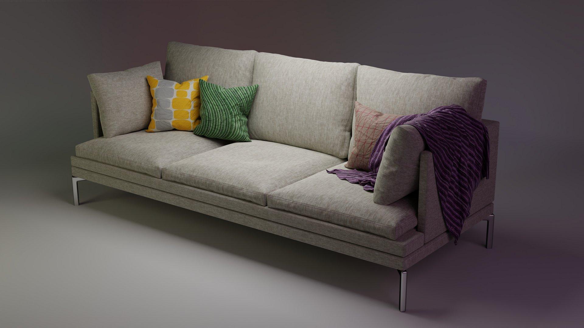 Blender Guru couch