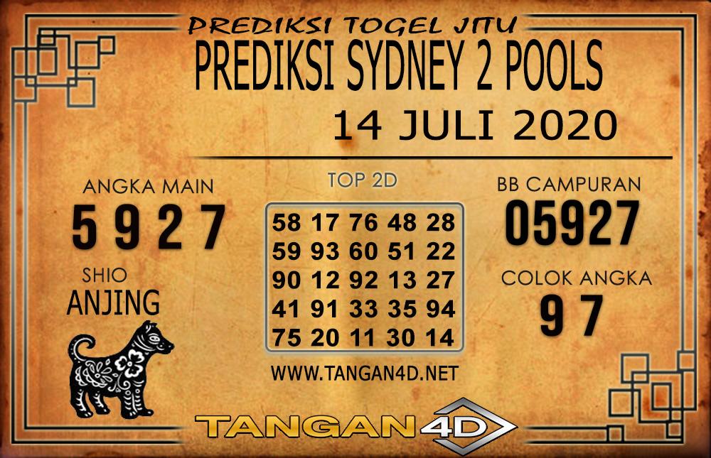 PREDIKSI TOGEL SYDNEY 2 TANGAN4D 14 JULI 2020