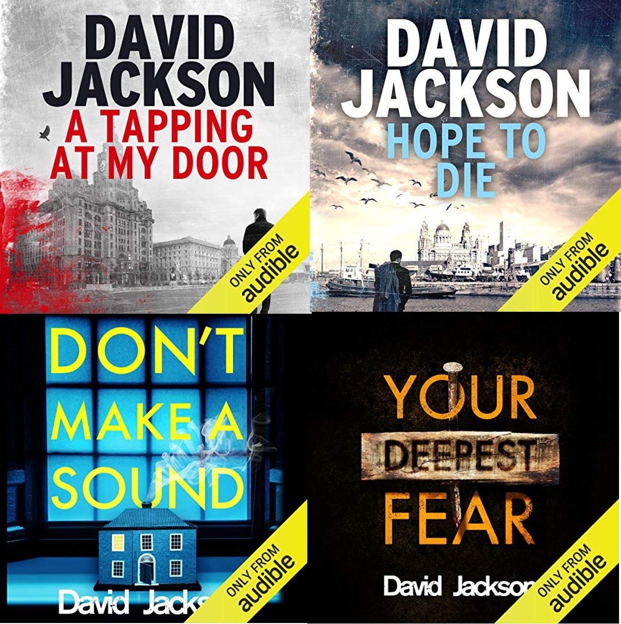 DS Nathan Cody (Books 1-4) - David Jackson