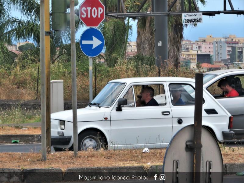 avvistamenti auto storiche - Pagina 30 Fiat-126-600-22cv-73-CT329021-1