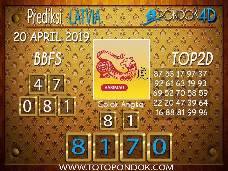 Prediksi Togel LATVIA PONDOK4D 20 APRIL 2019