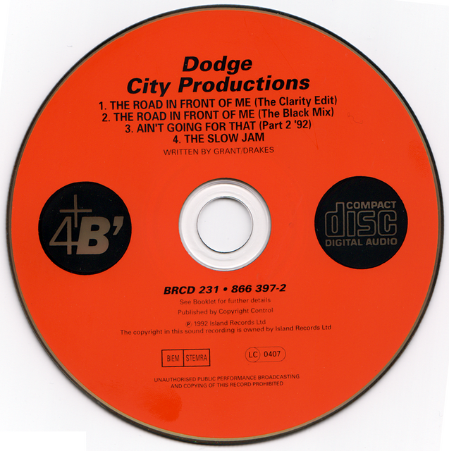 Dodge-City-Productions-The-Clarity-EP-CD