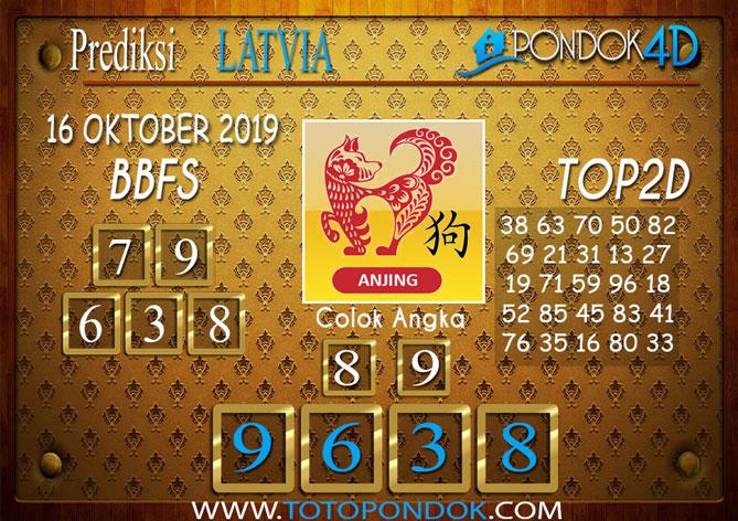 Prediksi Togel LATVIA POOLS PONDOK4D 16 OKTOBER 2019