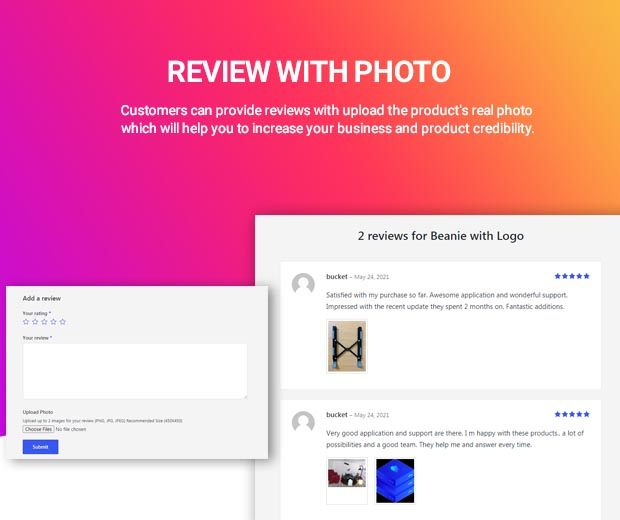 WooCommerce Review Master - WooCommerce review and rating tools - 2