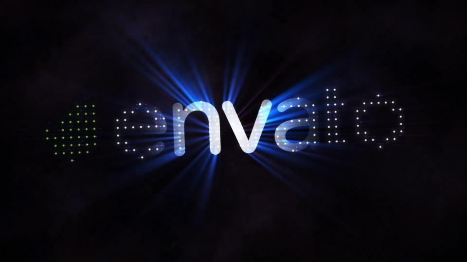 Cinematic Rays Logo Intro