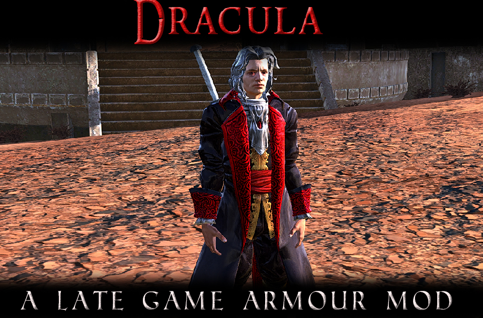 Dracula - A Late Game Enchanted Armour Mod (RU)