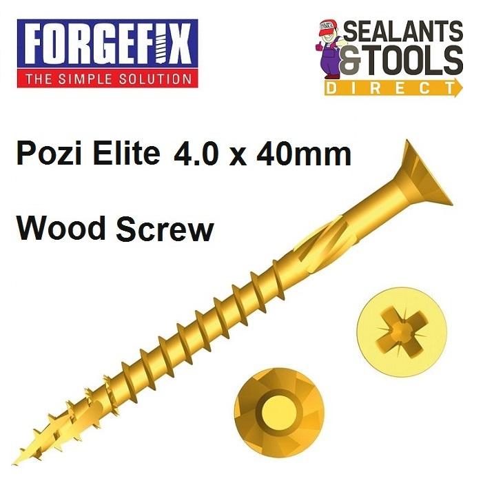 Forgefix-Pozi-Elite-Wood-Screws-4-0-40mm
