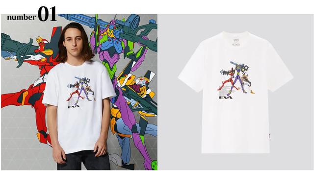 UNIQLO X EVANGELION 推出8件合作T-shirt 01