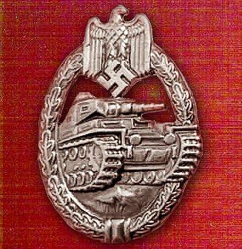 Panzer Badge (Panzerkampfabzeichen)