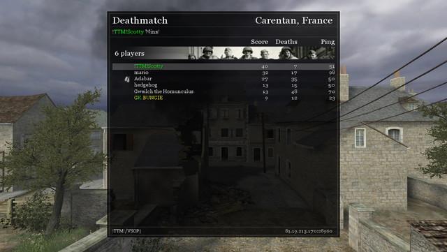 cod 2 server