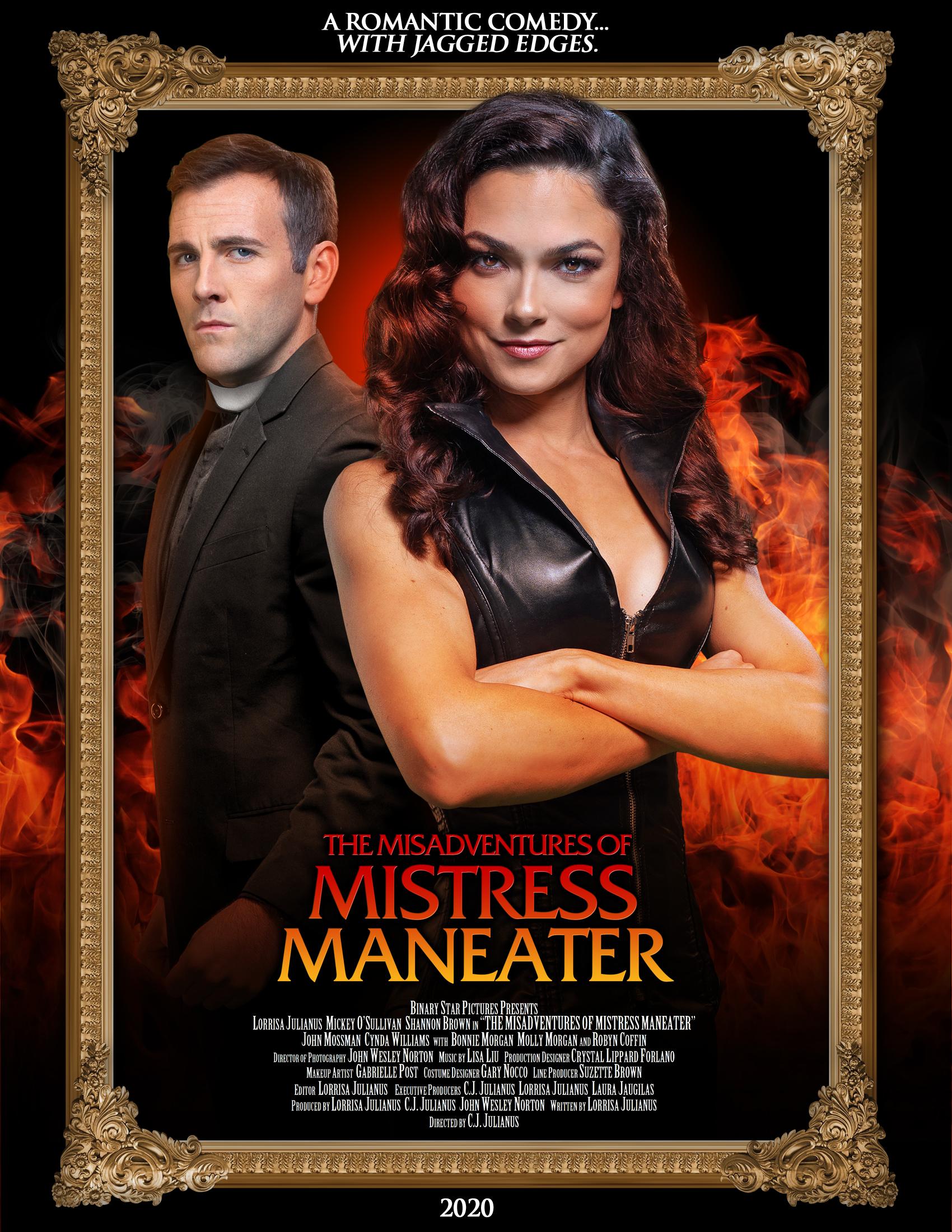 The Misadventures Of Mistress Maneater 2020 English AMZN WEBRip 720p DL