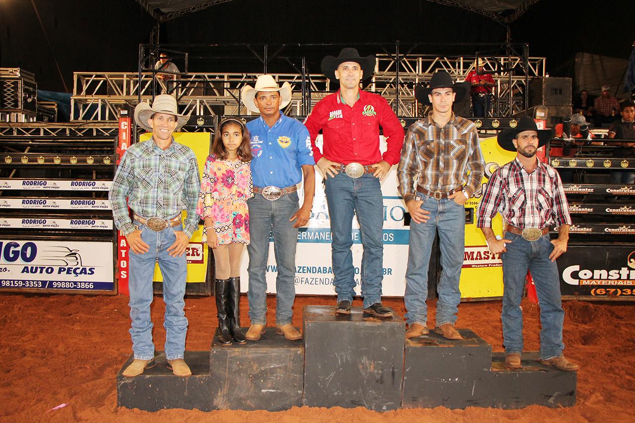 Ganhadores do Rodeio Cutiano