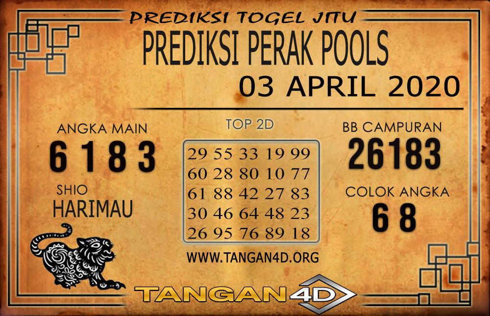 PREDIKSI TOGEL PERAK TANGAN4D 03 APRIL 2020