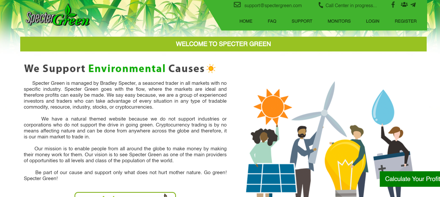 spectergreen.com review