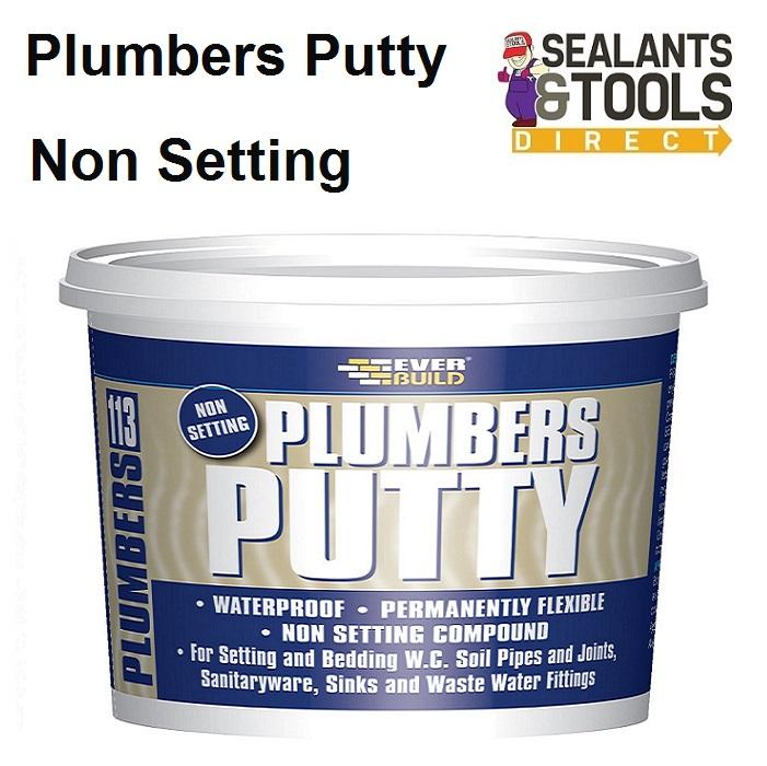 Everbuild 113 Plumbers Putty Non Setting PLUMB7