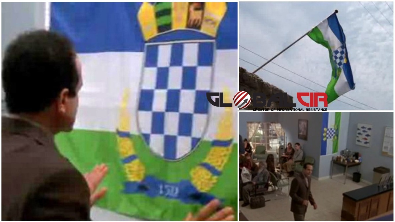 EPIZODA EMITIRANA NA HRT-u! U Hrvatskoj preozbiljno shvatili detektivsku seriju: 'Monk se se izruguje s Hrvatskom, izmijenili grb i trobojku'