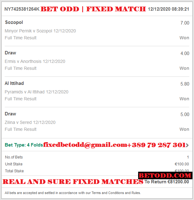 Betodd.com | Proof from bet365 for Vip Ticket