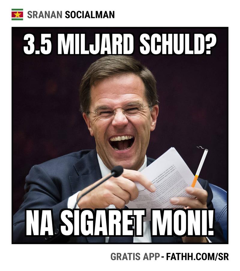 Sranan Socialman : Sigaret Moni
