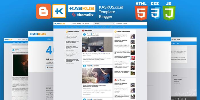 template blog Kaskus