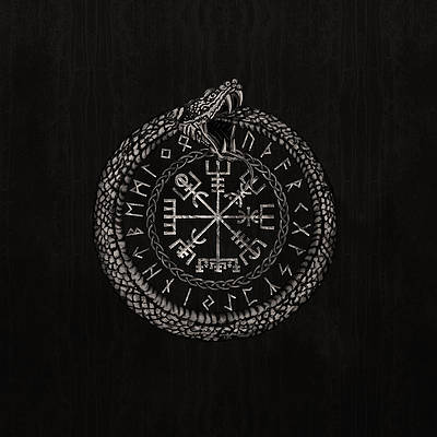 vegvisir-with-ouroboros-and-runes-lioudmila-perry