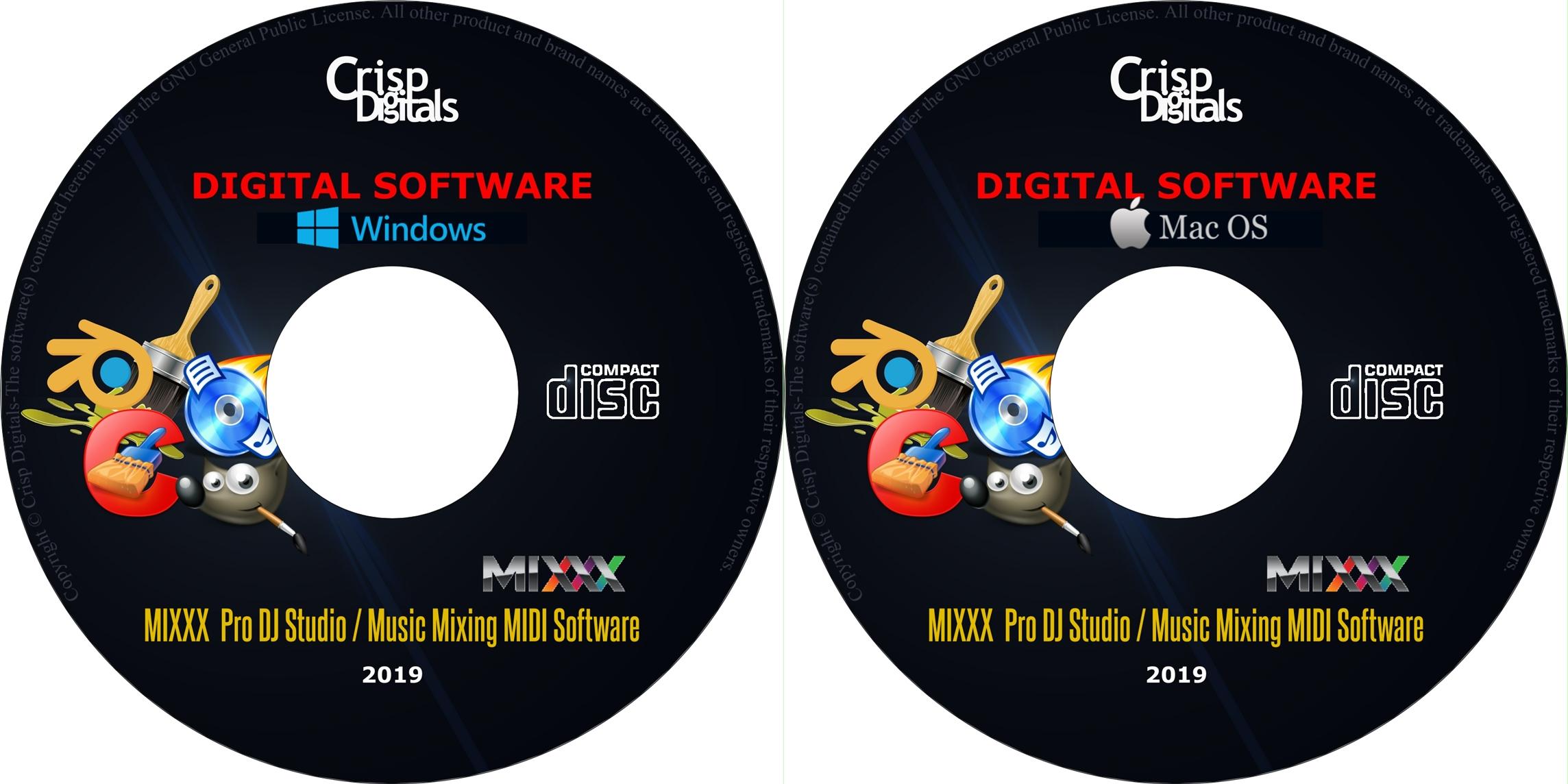 Details about NEW Mixxx 2019 Professional DJ Mixing Software Auto DJ MIDI  CD Windows/Mac