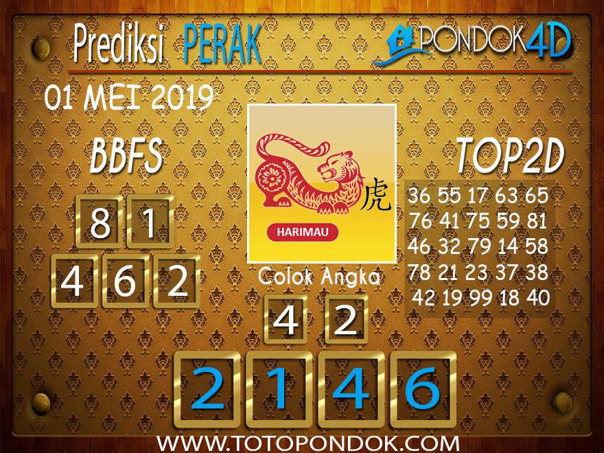 Prediksi Togel PERAK PONDOK4D 01 MEI 2019