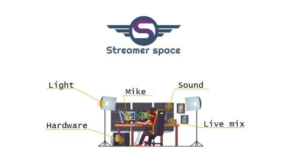 streamer-space-online-store