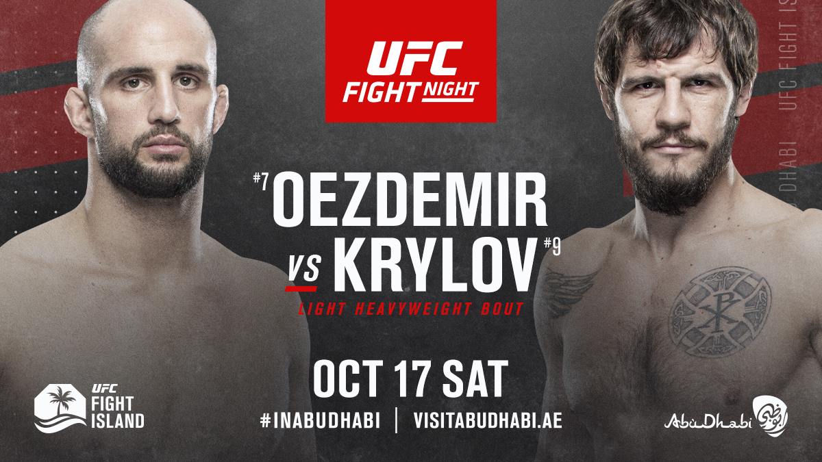 Волкан Юздемир срещу Никита Крилов на UFC Fight Island 6