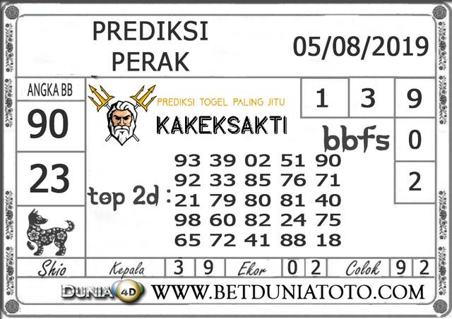 """Prediksi Togel """"PERAK"""" DUNIA4D 05 AGUSTUS 2019"""