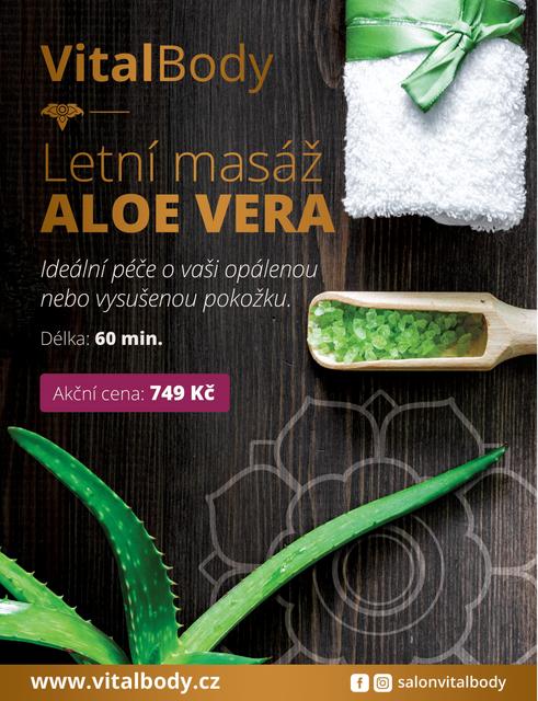 Masáž Aloe Vera