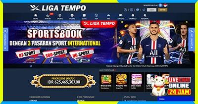 SITUS DAFTAR CASINO SLOT JUDI BOLA ONLINE SBOBET INDONESIA TERPERCAYA 2021 LIGATEMPO