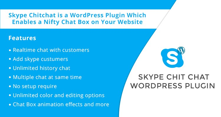Skype Chitchat - WordPress Plugin