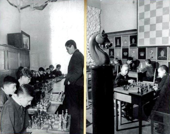 Игра в шахматы как феноменом советской действительности