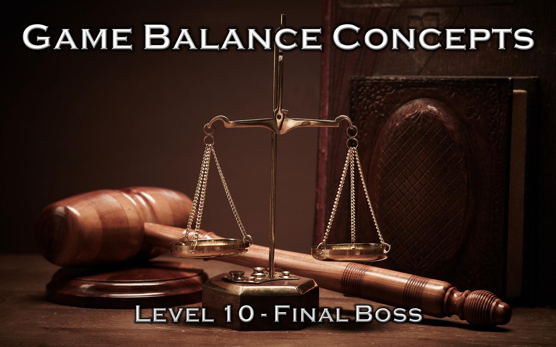 Game Balance Concepts Icon