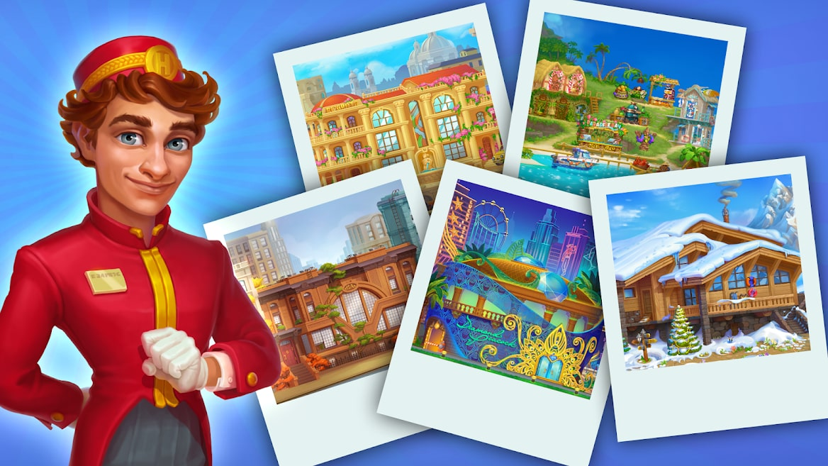 Grand Hotel Mania – Hotel Games Idle Hotel Tycoon 2