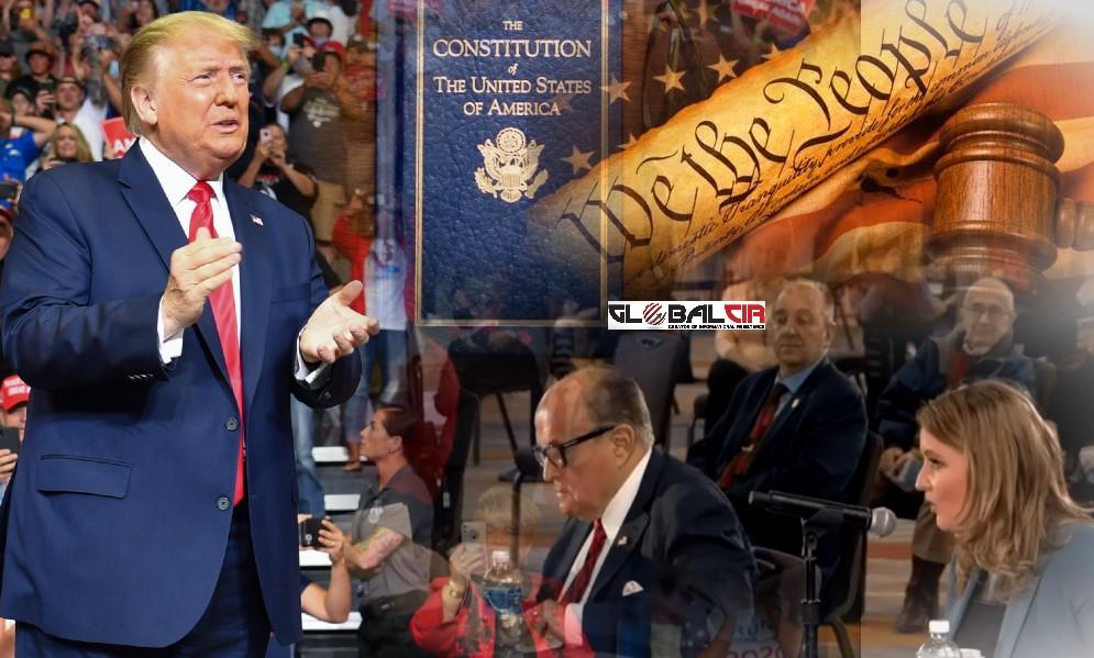 NAŠ VODIČ JE USTAV SAD-a, A NE GUVERNER, SEKRETAR ILI 'NEW YORK TIMES'! Na saslušanju u Arizoni, prezentirani dokazi o izbornoj prevari, javio se i predsjednik Tramp! Giuliani poručio: 'Ustav SAD-a kaže da zakonodavno tijelo Arizone ima plenarnu moć da regulira izbor elektora na predsjedničkim izborima'