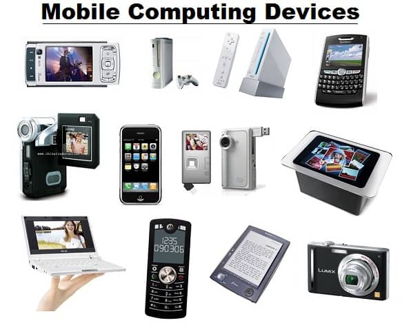 types of mobile computing devices