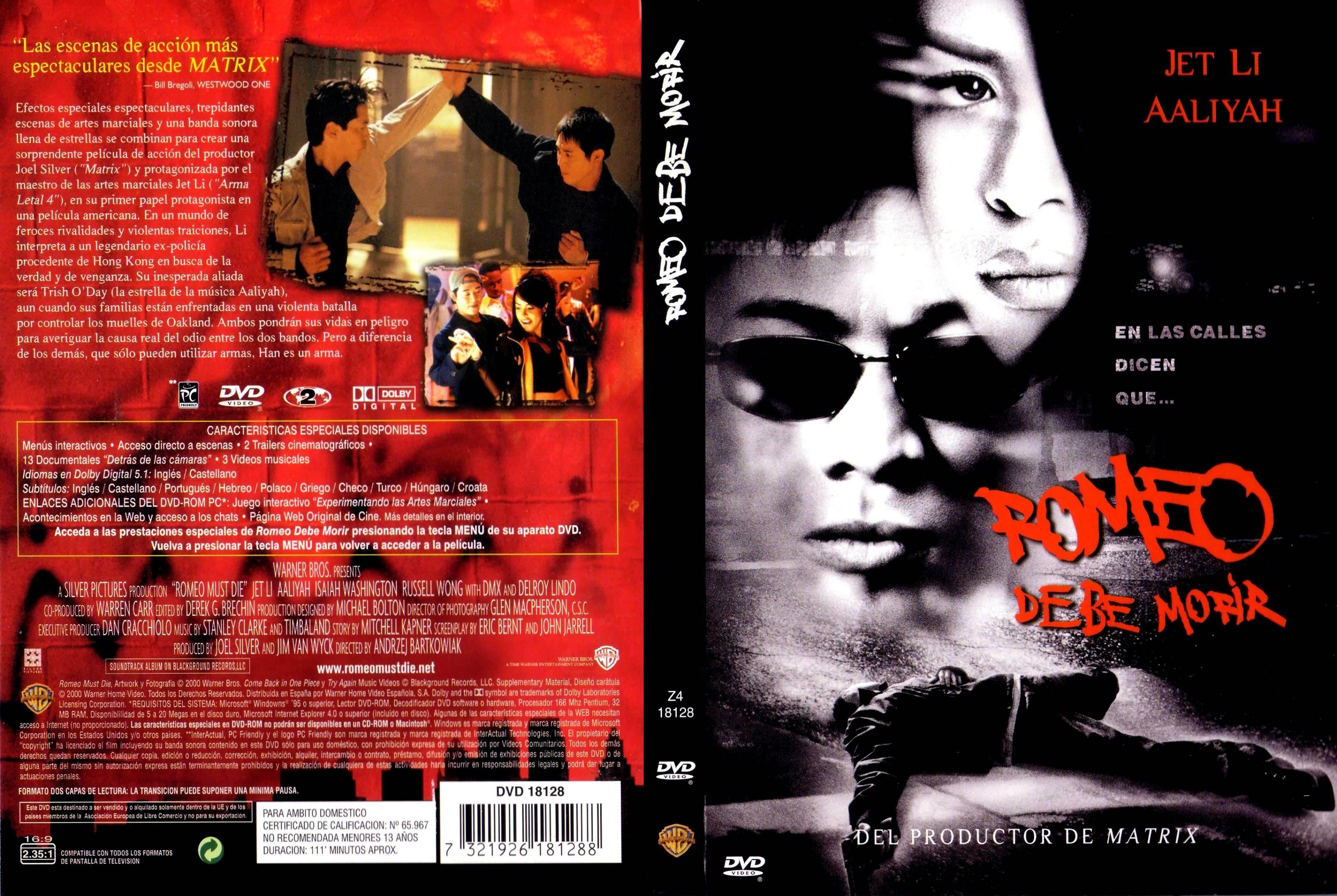 Romeo Debe Morir|Jet Li|2000|1080p|Latino