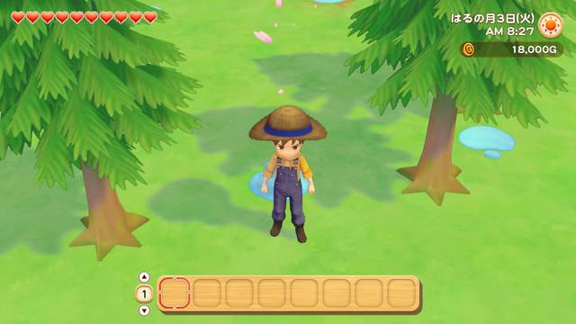 「牧場物語」系列首次在Nintendo SwitchTM平台推出全新製作的作品!  『牧場物語 橄欖鎮與希望的大地』 於今日2月25日(四)發售 060