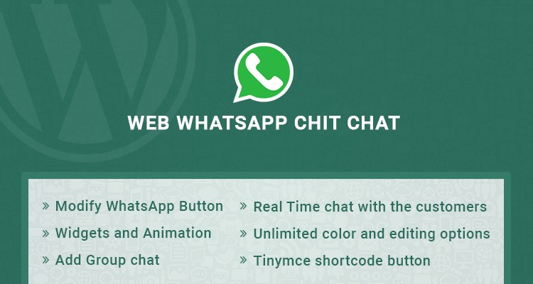Web WhatsApp Chitchat - WordPress Plugin
